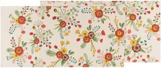 Now Designs Golden Bloom Cotton Table Runner