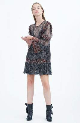 IRO Trillie Long Sleeve Dress