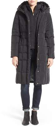 Cole Haan Signature Bib Insert Down & Feather Fill Coat