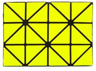 Bao Bao Issey Miyake Lucent Two Tone Card Holder - Womens - Yellow Multi