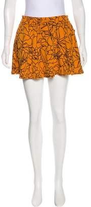 Pharrell Williams x Adidas Floral Mini Skirt