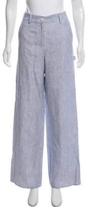 Theory High-Rise Linen Pants