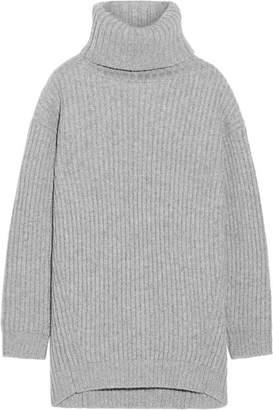 Acne Studios - Disa Oversized Ribbed Wool Turtleneck Sweater - Stone