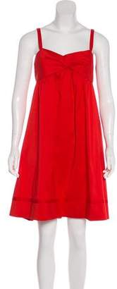 Diane von Furstenberg Knee-Length Empire Dress