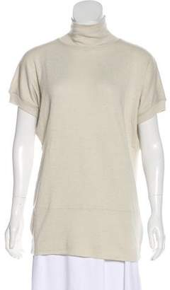 Rick Owens Lilies Turtle Neck Short Sleeve Top