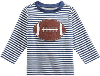 First Impressions Baby Boys Football Graphic-Print T-Shirt, Created for Macy's
