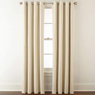 Royal Velvet Supreme Grommet-Top Blackout Curtain Panel