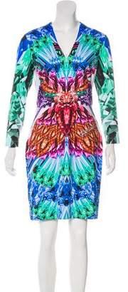 Just Cavalli Diamond Mini Dress