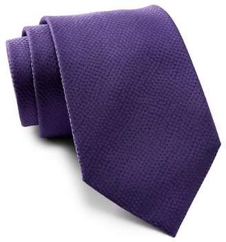 Calvin Klein Mini Reptile Skin Embossed Tie