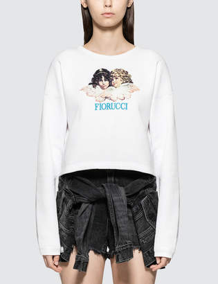 Fiorucci Angel Super Crop Sweatshirt