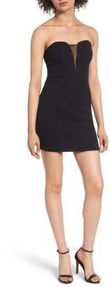 Speechless Strapless Body-Con Dress