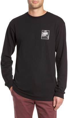 Vans Print Box Long Sleeve Graphic T-Shirt