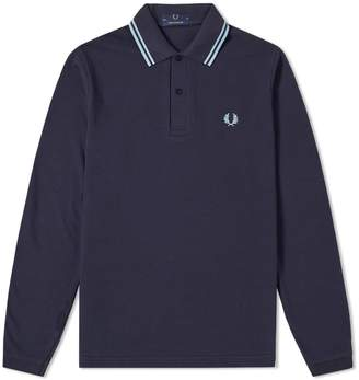 Fred Perry Long Sleeve Original Twin Tipped Polo