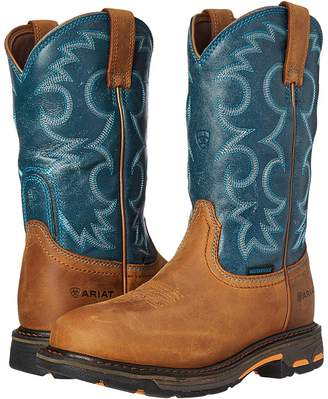 Ariat Workhog Pull-On WP Women's Work Boots