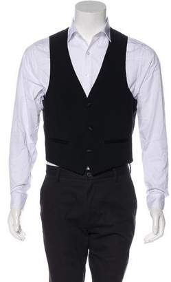 Givenchy Button-Up Suit Vest