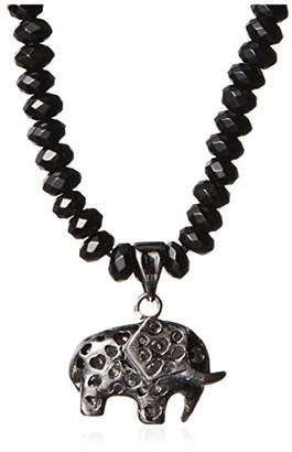Electric Picks Morocco Elephant Charm Necklace