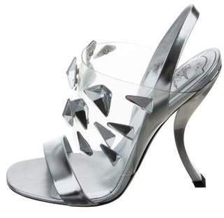 af5c71acc91 Roger Vivier Crystal Embellished Women s Sandals - ShopStyle