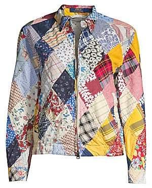 Polo Ralph Lauren Women's Cotton Patchwork Jacket