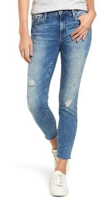 Mavi Jeans Tess Distressed Raw Edge Jeans (Indigo Tribeca)