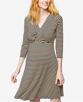 A Pea in the Pod Maternity Striped Dress