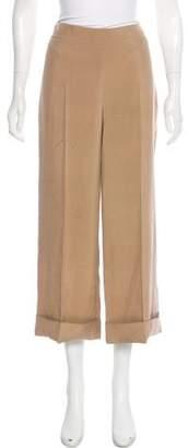 Akris Cropped High-Ride Pants