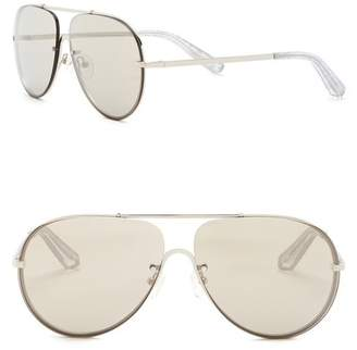 Elizabeth and James Rider 61mm Aviator Sunglasses