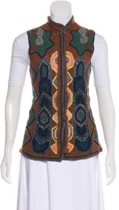 Dries Van Noten Crochet Vest