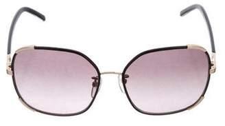 Chloé Square Oversize Sunglasses w/ Tags