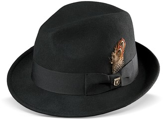 Stacy Adams Men s Wool Felt Pinched-Front Fedora 66ab20bc4b2
