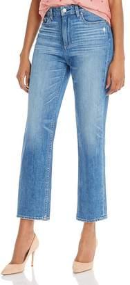 Paige Noella Straight-Leg Jeans in Casanova Distressed