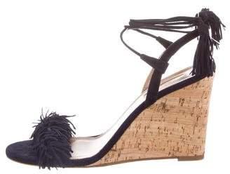 Aquazzura Wild Thing Wedge Sandals
