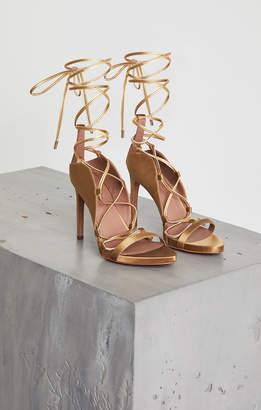 BCBGMAXAZRIA Esme Metallic Gladiator Sandal
