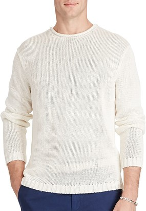 Polo Ralph Lauren Linen Roll Neck Sweater $225 thestylecure.com