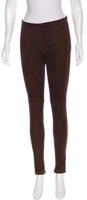 Balenciaga Embossed Leather Pants