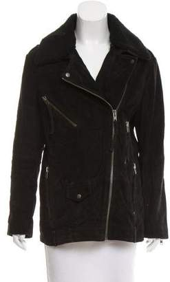 The Kooples Oversize Biker Jacket