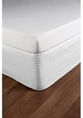 Christy Metropolitan Single Valance Sheet White