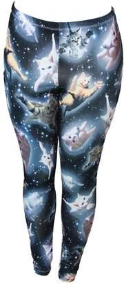 Freeze Cute Space Kitten Ladies Leggings