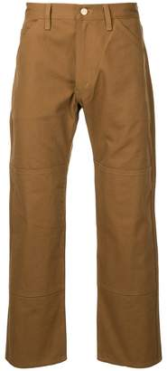 Junya Watanabe rear pocket detail trousers