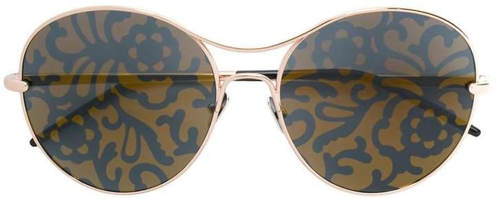 Pomellato floral lens sunglasses