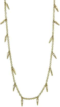 Sydney Evan Pavé Diamond Fringe Necklace