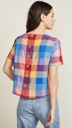 Madewell Plaid Tee