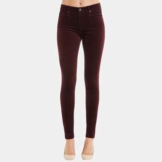 AG Jeans Farrah High Rise Skinny Jean in Deep Currant