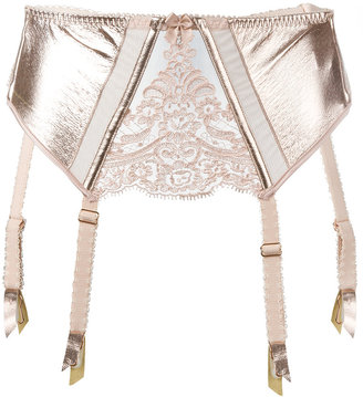 Loveday London suspender cropped corset