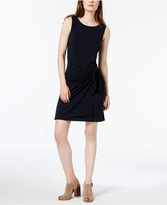 Tommy Hilfiger Sleeveless Wrap-Dress, Created for Macy's