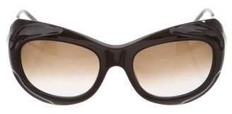 Marni Round Gradient Sunglasses