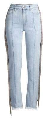 Each X Other Denim Pants With Chain Fringe