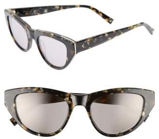 KENDALL + KYLIE Sienna 52mm Retro Cat Eye Sunglasses