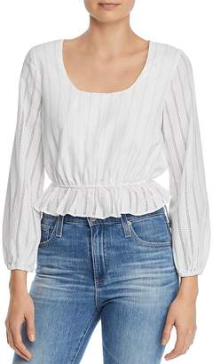 The Fifth Label Kite Eyelet-Stripe Blouse