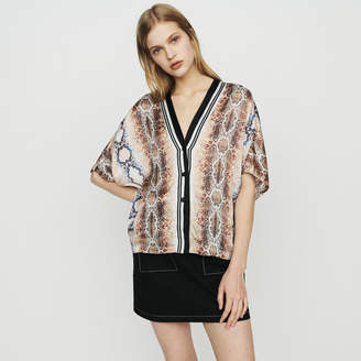 d4967f8020c6b Maje Shirt with python print