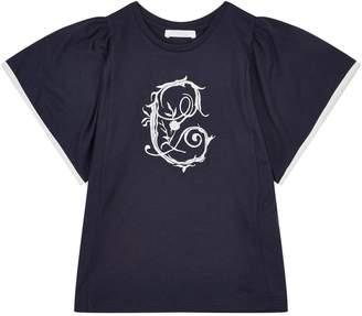 Chloé Embroidered Logo T-Shirt